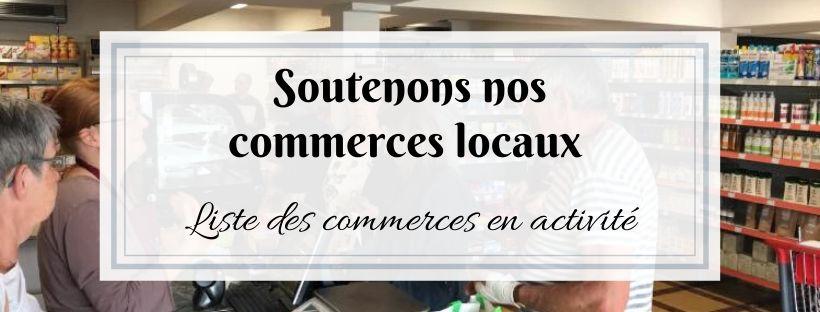 Soutenons nos commerces locaux